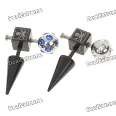 Surgical Steel Multi-Function Body Piercing Ring - Random Color
