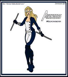 Women of the Avengers - Mockingbird by Femmes-Fatales