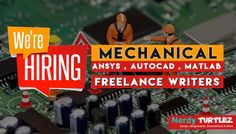 pin by nerdy turtlez on lance academic writing jobs online urgent hiring for mechanical lance academic writer be the mechanical lance writer nerdy turtlez and