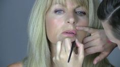 Evening make-up tutorial for mature ladies