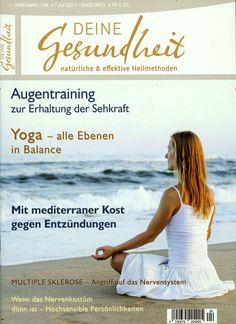 Alle Ebenen in Balance - Yoga. Gefunden in: Deine Gesundheit, Nr. 4/2016