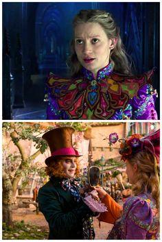 O figurino de Alice Através do Espelho - Além do Look do Dia