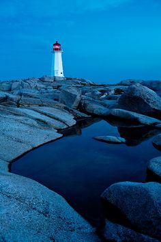Peggys Cove, Nova Scotia - when me and the boyfriend go on our roadtrip, this is where we& be headed :) fingers crossed Atlantic Canada, Prince Edward Island, New Brunswick, Nova Scotia, East Coast, Lighthouse, Nature, Surfing, Beautiful Places