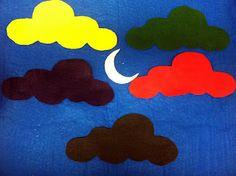 Little Moon Flannel Board