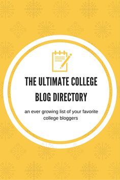 The Ultimate College Blog Directory | The Girl Who Does Everything Blog