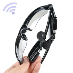 8GB HD Video Recorder Camcorder DVR Camera MP3 Bluetooth Sunglasses Eyewear Lens. answer the phone call via bluetooth.enjoy music of your phone or tablelet via bluetooth. pinhole spy camera can take photos or videos.