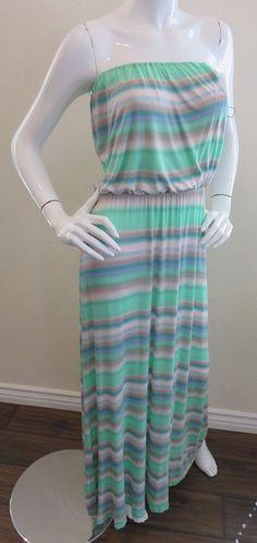 Taylor sunset stripe maxi dress
