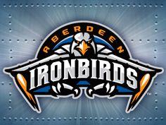 Aberdeen Ironbirds minor league baseball logo update