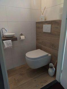 Toilet – # powder room # toilet # small toilet design ideas – Modern Bathrooms – Mix - Home Modelb Small Toilet Design, Small Toilet Room, Guest Toilet, Bathroom Design Small, Cloakroom Toilet Small, Small Toilet Decor, Washroom Design, Bathroom Interior Design, Interior Decorating