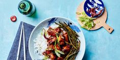 A lighter version of the iconic takeout dish, this spicy 22–minute recipe for General Tso's Chicken is just as flavorful as the original. The Sriracha and tomato paste may not be authentic, but they give the dish a powerful umami boost.