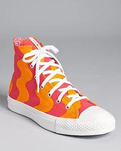 Converse - Orange Chuck Taylor X Marimekko Sneakers All Star Premium Hi -  Lyst decd1fca0
