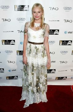 Kate Bosworth Wearing A Dolce & Gabbana Photograph  - Kate Bosworth Wearing A Dolce & Gabbana Fine Art Print