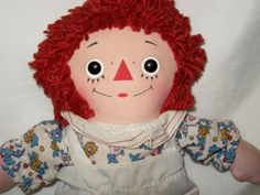 Raggedy Ann- I had a life size doll and wouldn't leave the house without her!