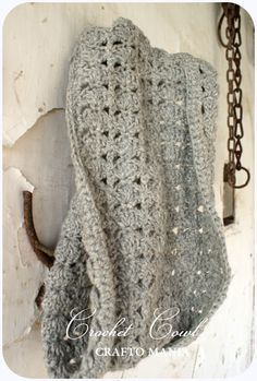 crafto-mania: Háčkovaný nákrčník / Crochet Cowl