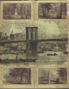 Brooklyn Bridge GreenWood Cemetery Transfer by DarkIslandCity, $12.00