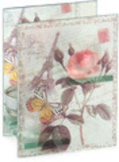rose & eiffel double tea light holder