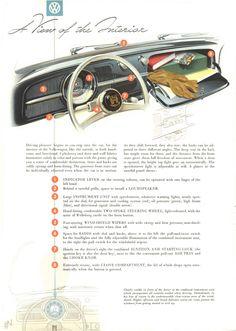 1954 VW Beetle U.S. brochure page 6