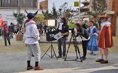 Le Maschere Umbre della Commedia dell'Arte riprese dalla RAI per lo spot finale di EXPO 2015.