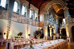 Spectacular Entertaining Events|- Scotland Destination Wedding| | Serafini Amelia| Scottish Whimsical Wedding| Castle Venue| Wedding & Reception Venue Hire :: Edinburgh, Scotland. Love the banquet tables
