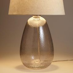 Smoke Glass Table Lamp Base   World Market