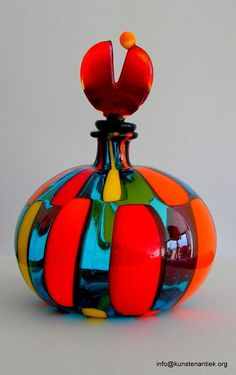 Catawiki online auction house: Murano glas - stolpfles Angelo Ballarin