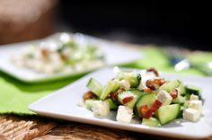 komkommersalade met dadels