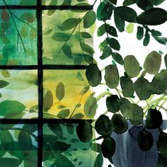 Inside outside #wip #illustration #watercolour