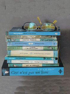 Self Shelf - Półka na książki - Niebieska