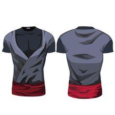 Black Son Goku Compression Shirt