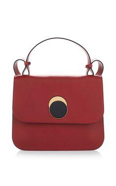 Tulip Vitello Leather Shoulder Bag by MARNI for Preorder on Moda Operandi