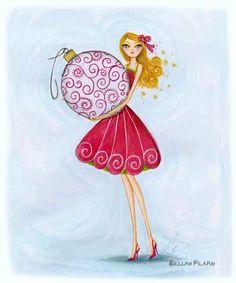 Amy's Illustration: My Version of a Bella Pilar Illustration