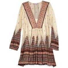 CALYPSO St. Barth Lew Printed Silk Tunic