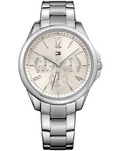 Ρολόι Tommy HILFIGER Savannah Silver Stainless Steel Bracelet - 1781826 - OROLOI.gr