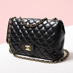 3293d8c7270d Chanel Black Quilted Lambskin Leather