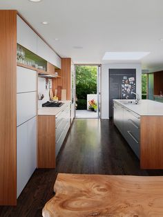 Wonderful Kitchen Design In The House: Awesome Leschi Remodel Kitchen Natural Oak Kitchen Table