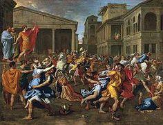 Image illustrative de l'article L'Enlèvement des Sabines (Poussin)