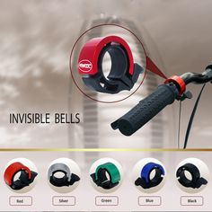 Aliexpress.com : Buy TAVTA Patented product Invisible bicycle bike bells CNC…