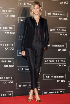 Гости ледового шоу Intimissimi on Ice   Мода   Выход в свет   VOGUE