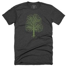 """""""Circuitree"""" graphic designer t-shirt and pullover crewneck by Jamie Perkins.   Cotton Bureau: hand-picked tees, tanks, and hoodies for people of all ages. Submit yours today."""