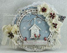 Kaleidoscopic Sparkles: Blue Christmas~ kaleidoscopicsparkles.blogspot.com