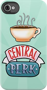 Central Perk [Friends Iphone-Case] I know that friends is cancelled but It is seriously my favorite show of all time! PIVOT! PIVOT! And Count Rushmore! Thank you Ross and Joey