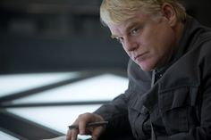 Full still image of Phillip Seymour Hoffman as Plutarch Heavensbee in #TheHungerGames #Mockingjay Part 1