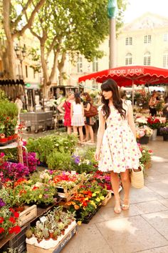 Love the dress The cherry Blossom Girl - Week End in Provence 48