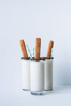 Churro Milkshakes! T