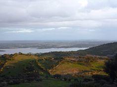 Vista de Monsaraz ao fim da tarde / View from Monsaraz late afternoon