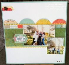 stampin Up clean layout using the Epic Day papers, Gorgeous Grunge, and Chalk Talk bundle