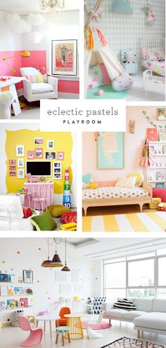 3 Stylish Playrooms: Trends To Try Now