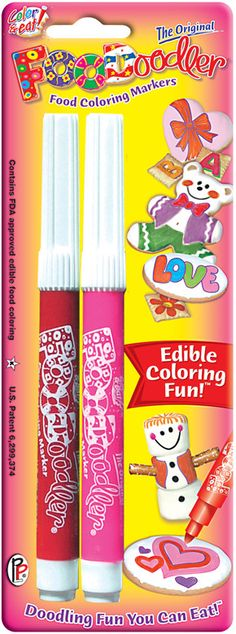 FooDoodler Food Doodlers Valentine set [25-1004] - $2.99 : Cake and Candy Supplies , Streichs