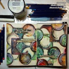 Marta Lapkowska: Art journals by me...