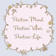 Positive Mind. Posit